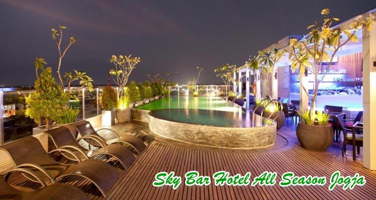 Sky bar All Season sebagai tempat wisata romantis di jogja