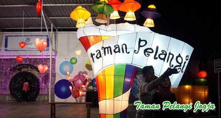Taman Pelangi Jogja sebagai tempat wisata romantis di Jogja