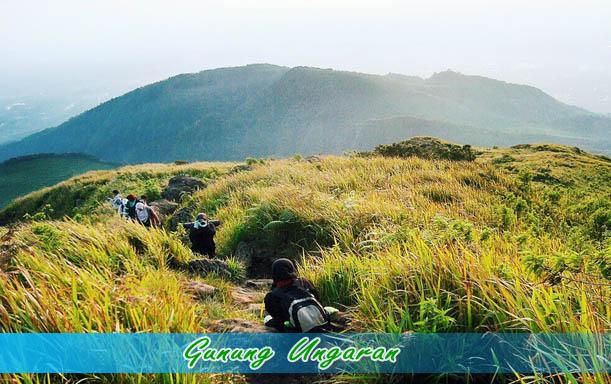 Gunung Ungaran sebagai wisata bandungan semarang