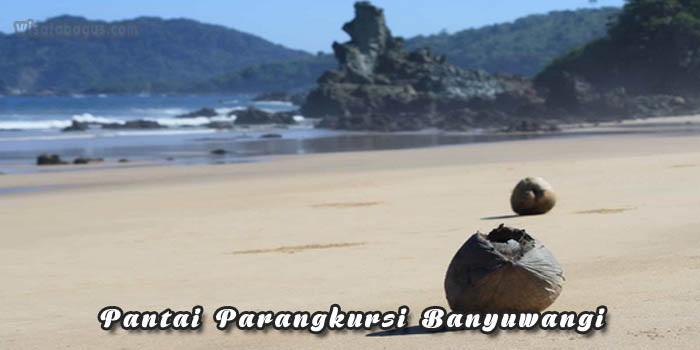 Pantai Parangkursi Banyuwangi