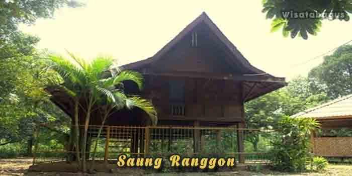 Saung Ranggon Wisata di Cikarang
