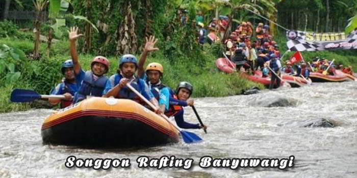Songgon Rafting Banyuwangi