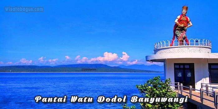 Tempat Wisata Pantai Watu Dodol Banyuwangi