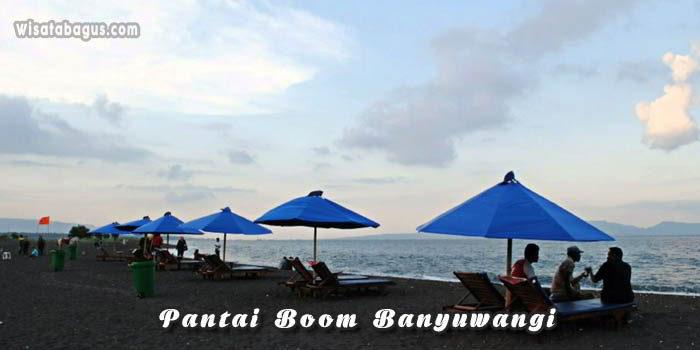 Tempat wisata Pantai Boom Banyuwangi