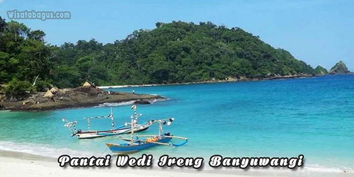 Tempat wisata pantai wedi Ireng Banyuwangi