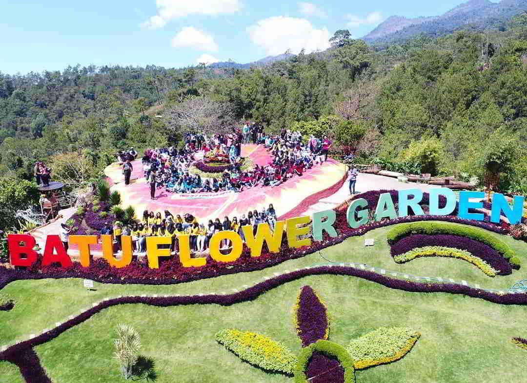 √ Batu Flower Garden: Lokasi, Wahana, Harga Tiket Masuk