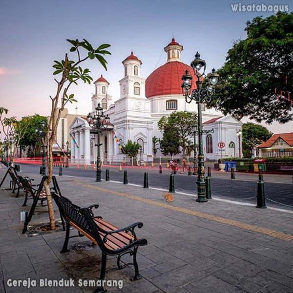 Gereja-Blenduk-Tempat-Wisata-Semarang