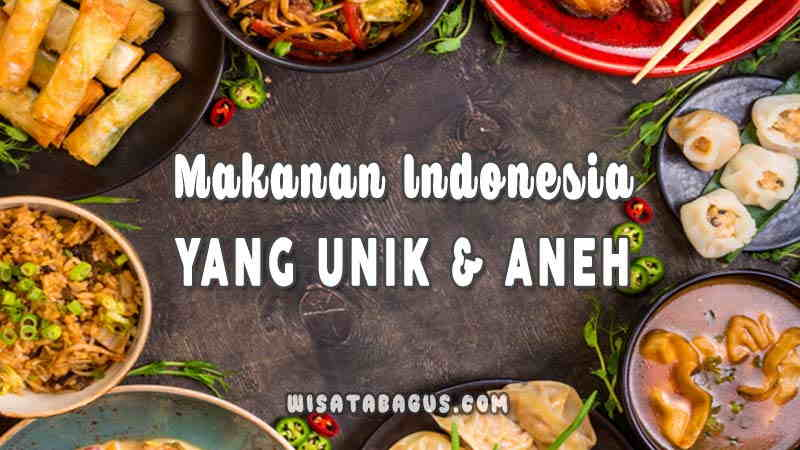 Nama Kuliner Indonesia yang Unik dan Aneh
