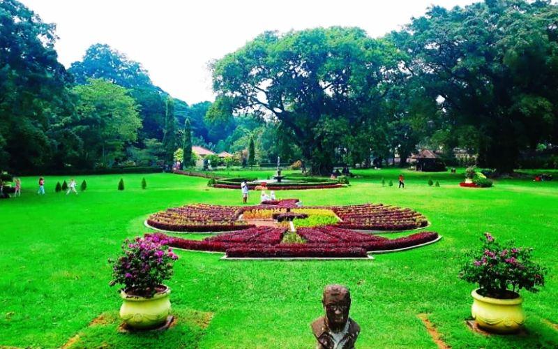 Berapa Luas Keliling Kebun Raya Bogor