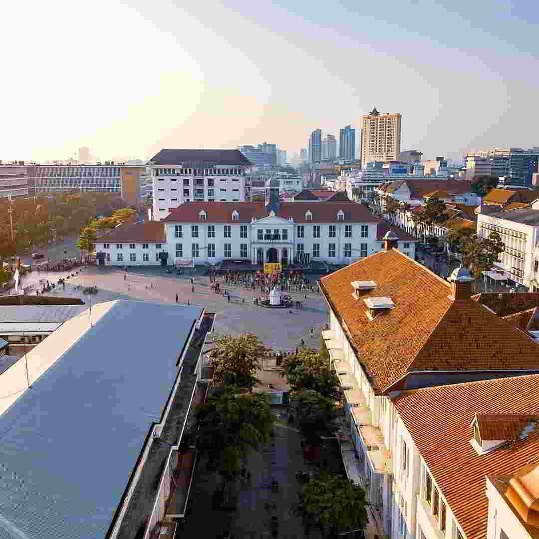 Kota Tua Jakarta Alamat Tiket Masuk Obyek Wisata Menarik