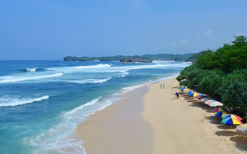 Pantai Indrayanti Jogja Lokasi Fasilitas Tiket Masuk 2020