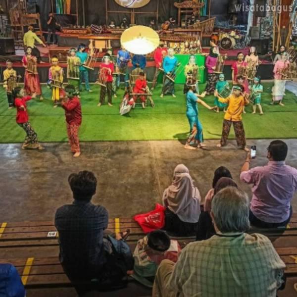 Saung Angklung Udjo Bandung City West Java
